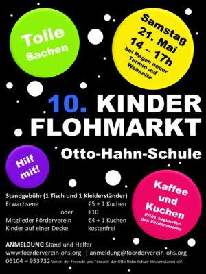 Flyer Flohmarkt 2016